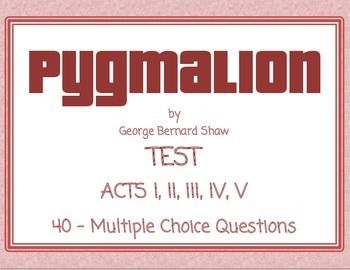 pyg on test george bernard shaw inference multiple choice  pyg on test george bernard shaw