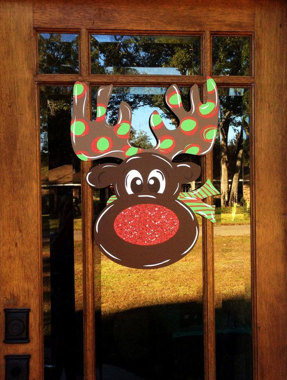 Rudolph The Red Nosed Reindeer Whimsical Holiday Christmas