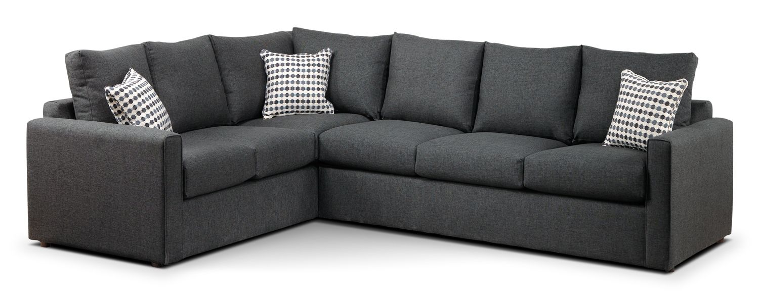 Best Athina Upholstery 2 Pc Sectional Reverse Leon S For 400 x 300