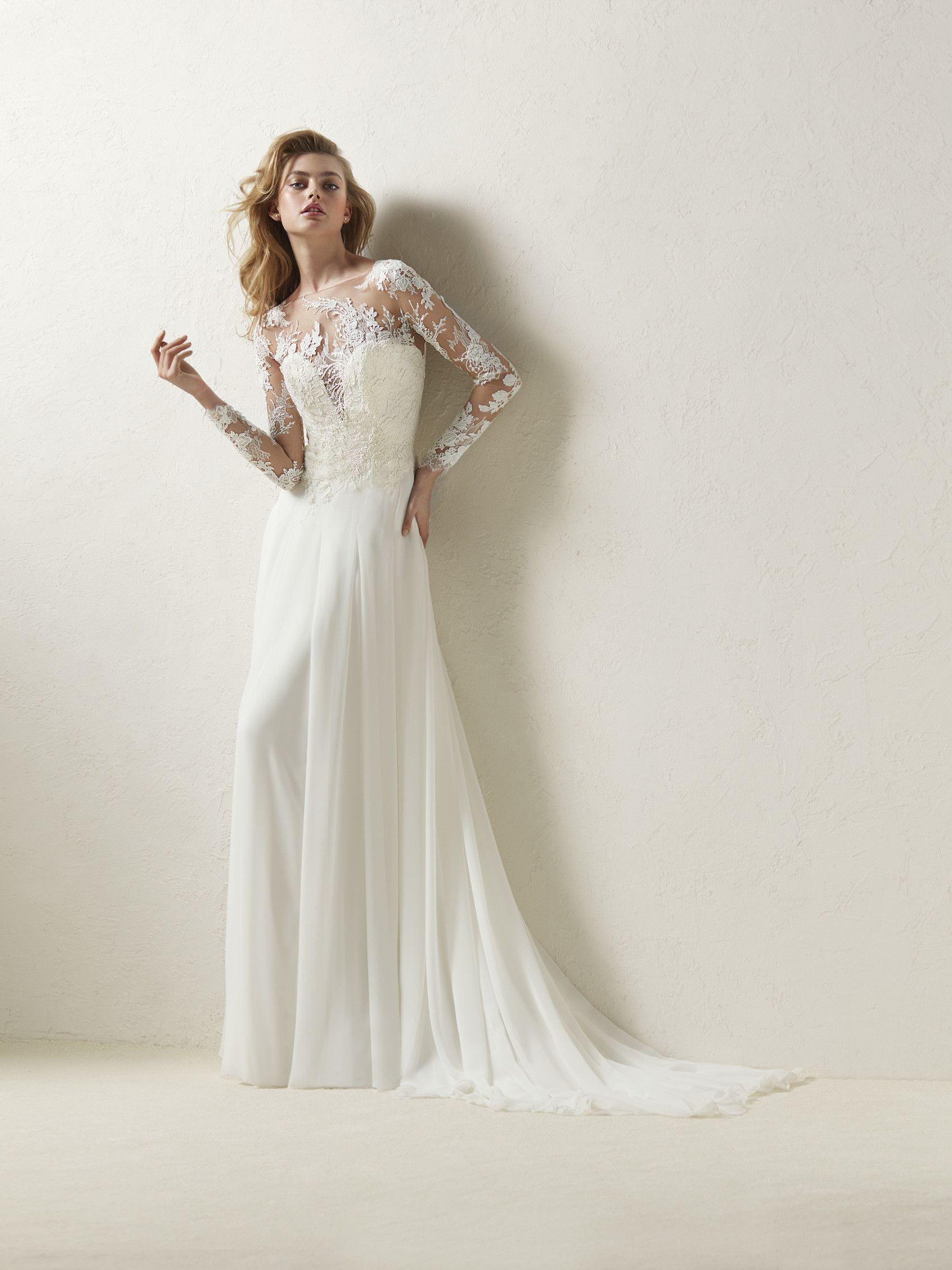 Brautkleid gerader Schnitt - Dresal | mögliche Kleider Hochzeit ...