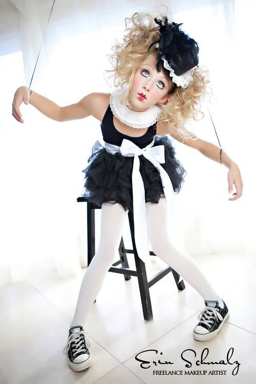 Halloween Makeup - Marionette Doll #dollcostume