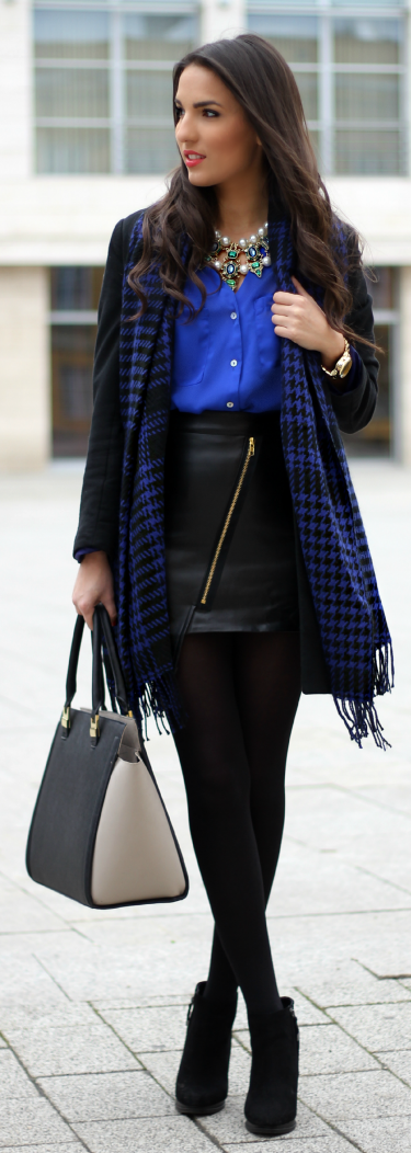 Blue Mood  by Styleandblog.com