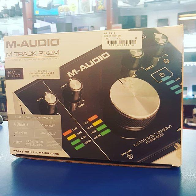 Carte Son M Audio M Track 2x2m Dispo Happycashlannion Bonsplans