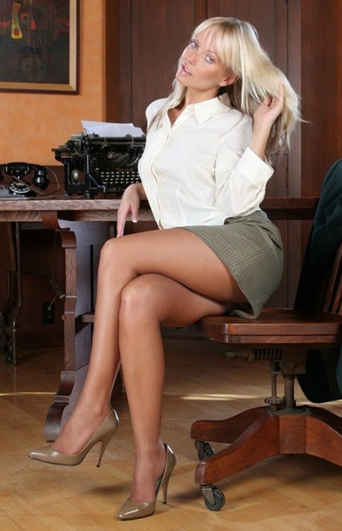 Erotic ladies in skirts