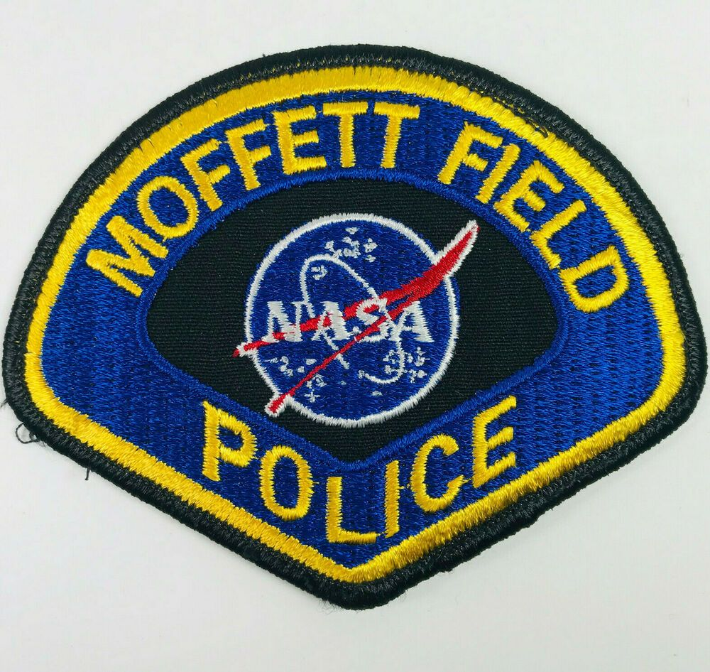 NASA Moffett Field Airport Police California Patch in 2020
