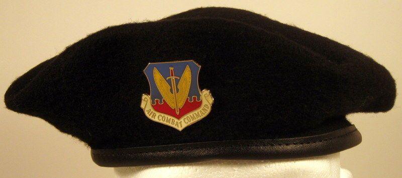 AIR FORCE AIR COMBAT COMMAND MILITARY HAT CAP