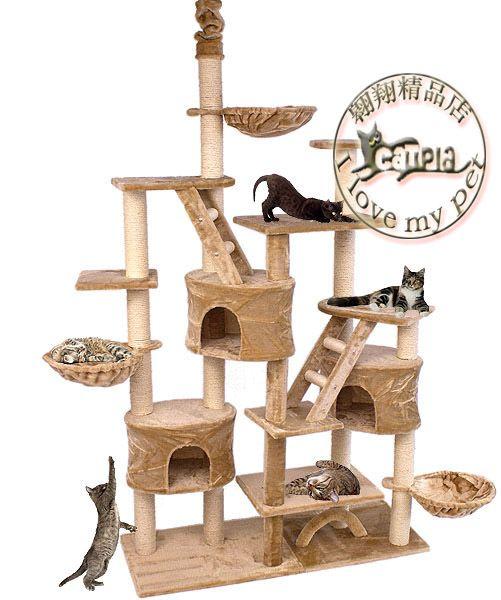 meiqi cat climbing frame luxury large size c100 cat climbing frame cat tree cat scratch