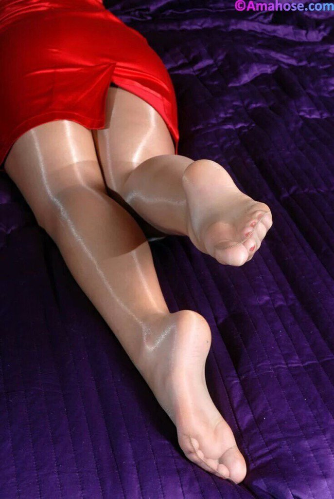 Refuse. feet shiny pantyhose sorry, can