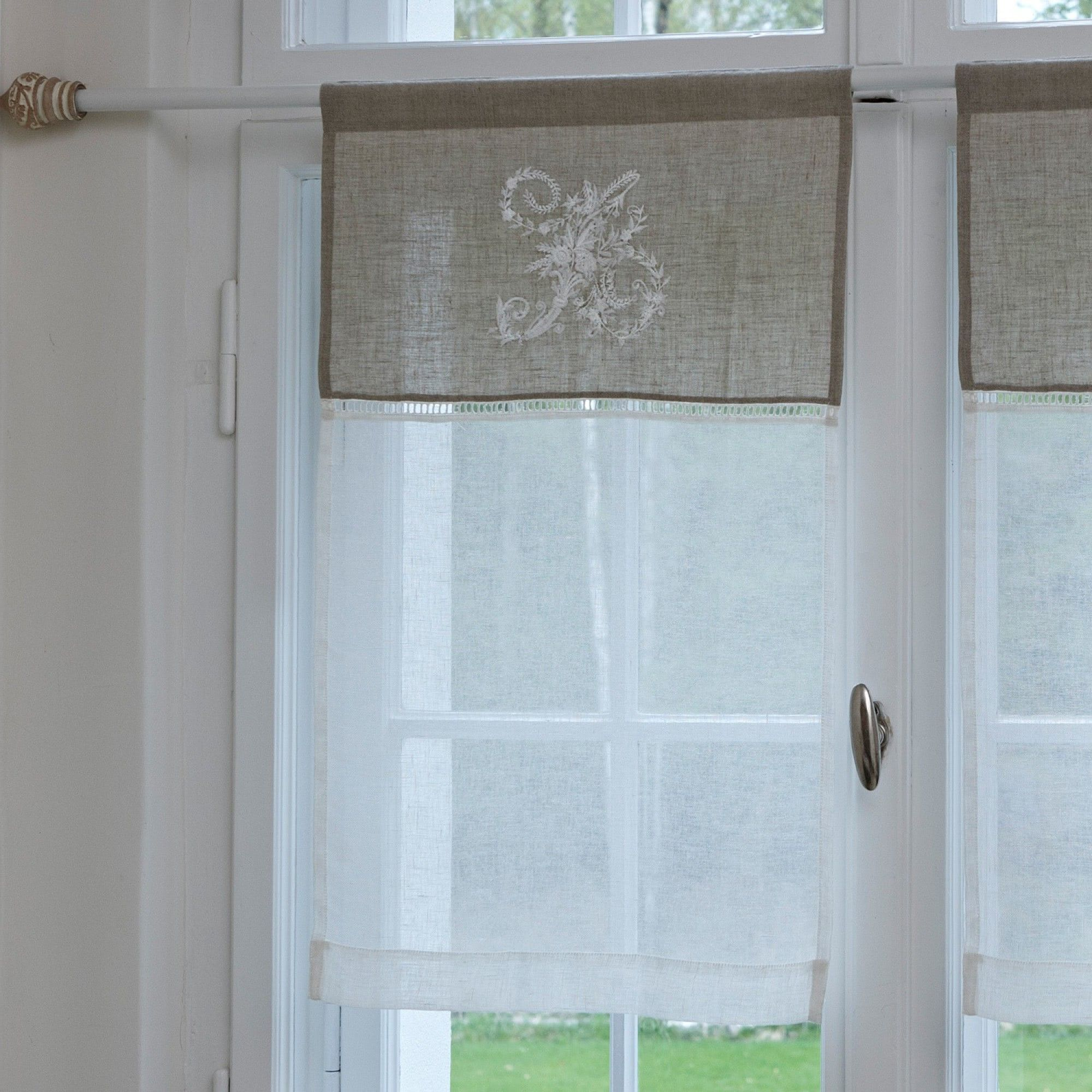 Pin By Andi Rahn On Kleine Projekte Cottage Curtains Diy Curtains Curtains With Blinds