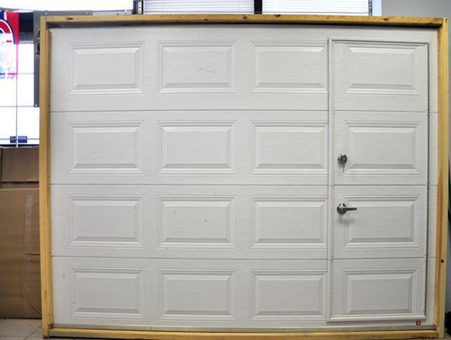 Garage Doors With Pedestrian Access Doors Built In Garage Doors