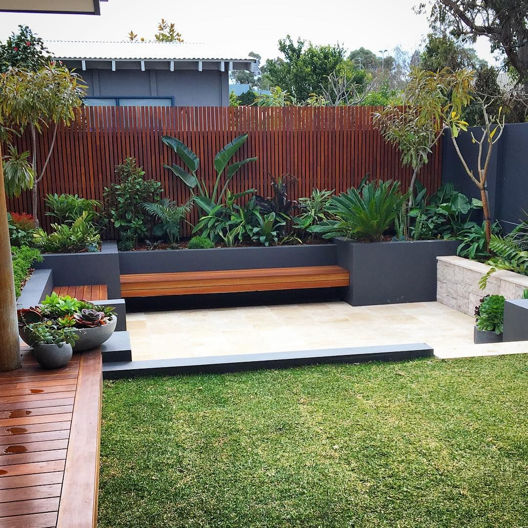 North Beach Small Garden Landscape Bali Garden Backyard Garden Design Backyard small house ideas