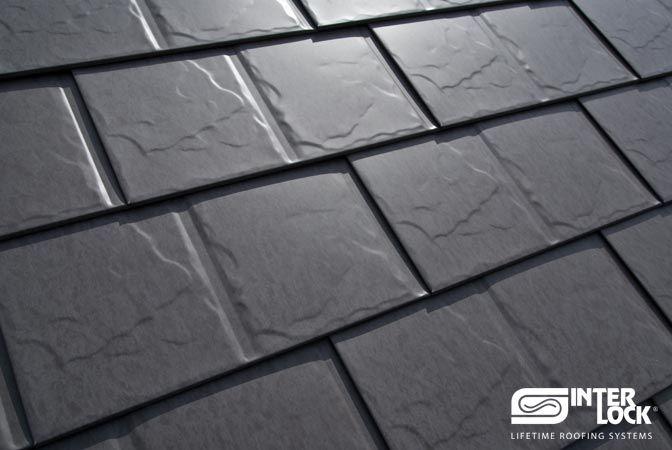 Slate Roofing Interlock Metal Roofing Metal Roofing Systems Aluminum Roof Metal Shingles