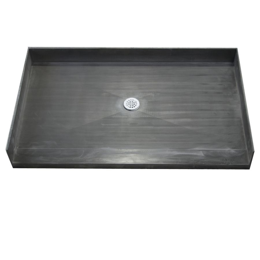 Made for Tile Fiberglass and Plastic Shower Base (Common: 37-in W x ...