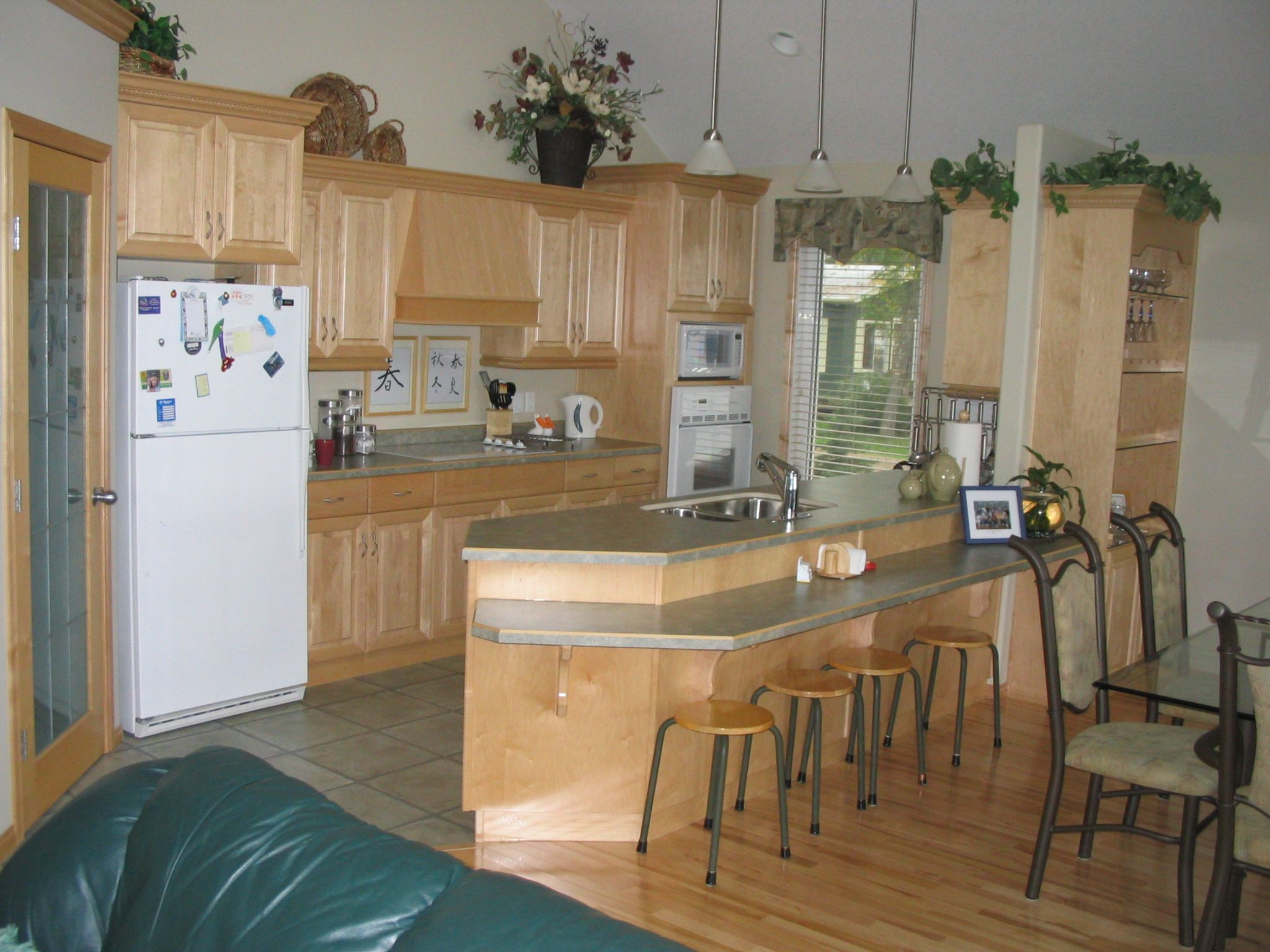 Kitchen Base Cabinets With Countertop Cabinets Maple Natural Countertops Arborite Laminate