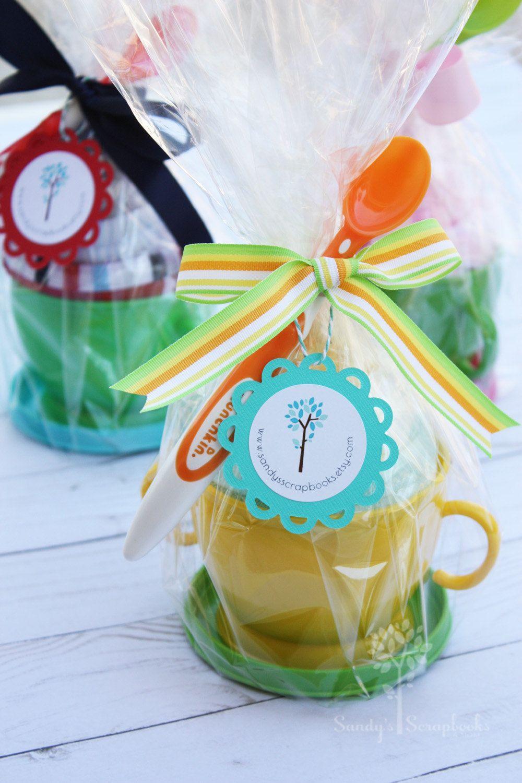 Baby shower gift idea gender neutral baby sundae