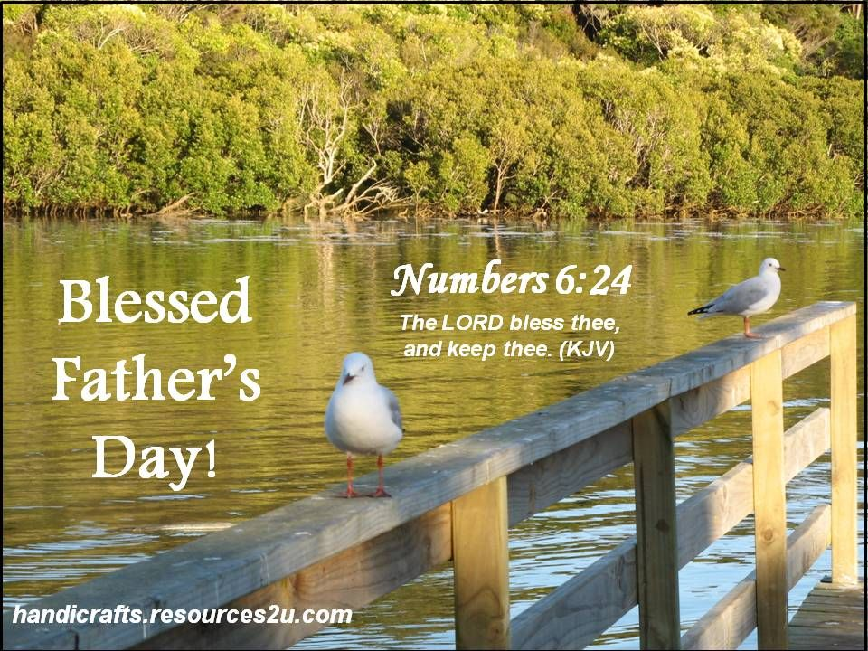 Happy Father's Day Scripture | Free Christian Father's Day ...
