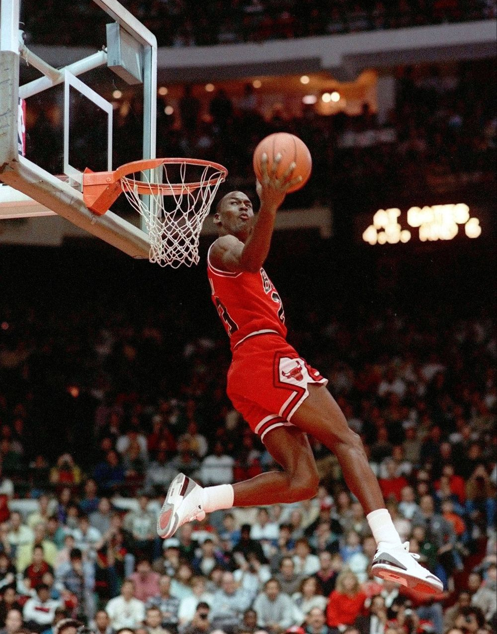 the best attitude 0543e 97a5e 3 MJ AJ III Cement dunk contest 88
