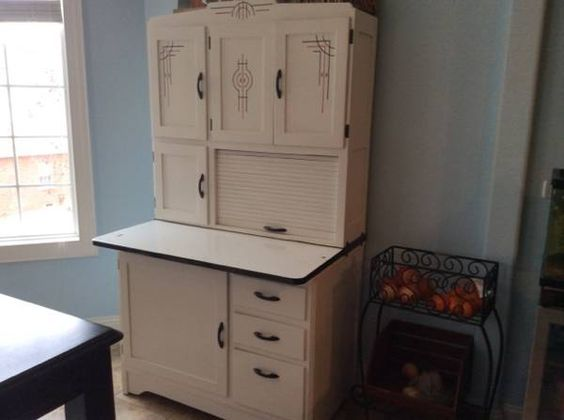 Hoosier Cabinet With Flour Bin And Sifter Refinish Google