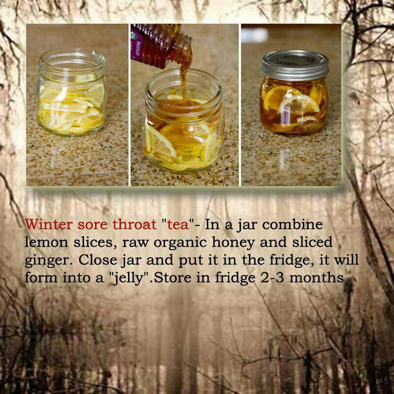 For hubbys tonsilectomy sore throat sore throat tea