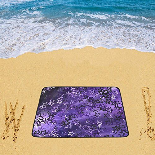 e0252f4bad Waterproof Sandless Beach Mat Picnic Blanket Outdoor Camping Mat Stars Beach  Blanket 78 x 60 Inch     Learn more by visiting the image link.