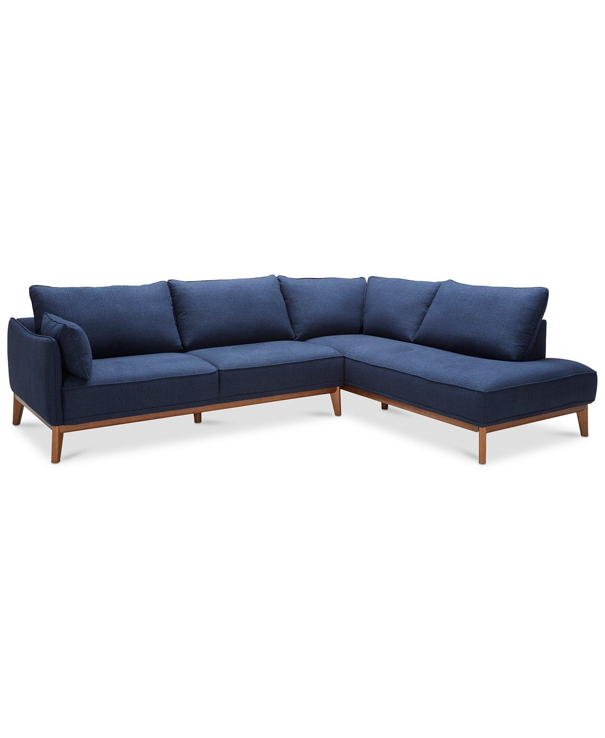 Jollene 113 2 Pc Sectional Created For Macy S Sectional Macy