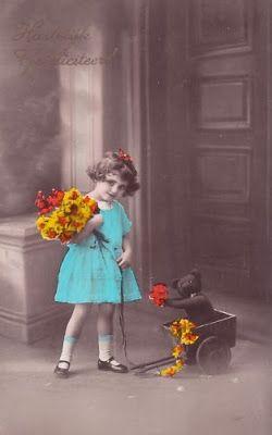 Vintage Rose Album: Święto misia! :)