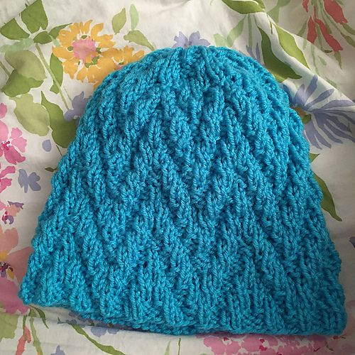 Free Knit Hat Pattern Ups Downs By Emily On Ravelry Has Such A