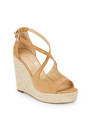 Saks Melody Espadrille Wedge Sandals