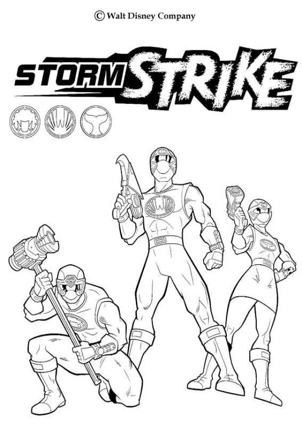 86 Power Rangers Wild Force Printable Coloring Pages Enjoy