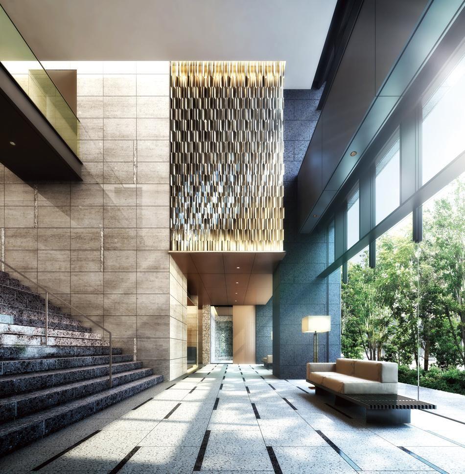 物件詳細 ザ パークハウス 白金二丁目タワーの新築マンション情報 東京都港区 毎日新聞 エントランスのデザイン マンション 新築マンション
