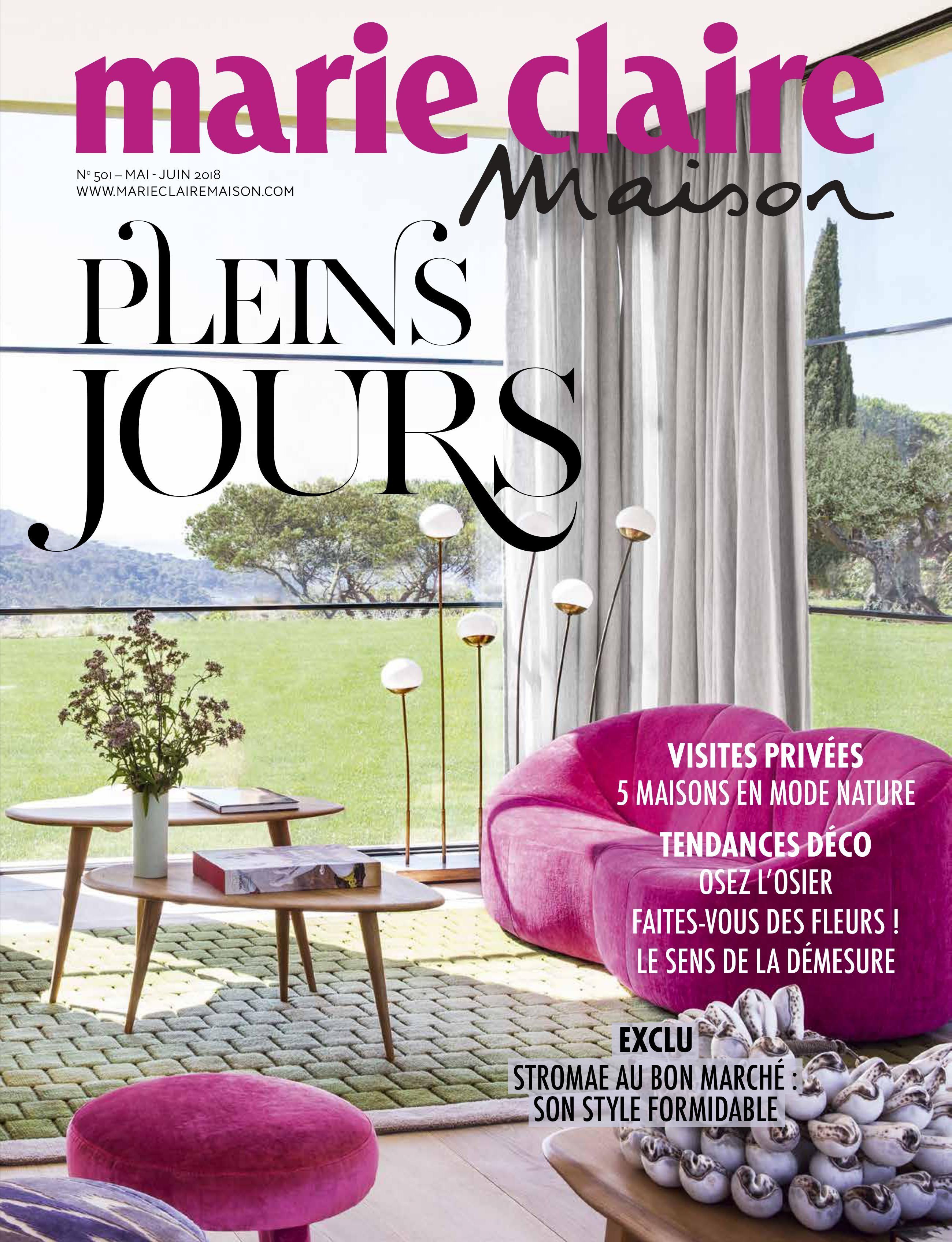 Marie Claire Maison n°501 Juin 2018   Interior deco, Marie claire maison, Marie claire