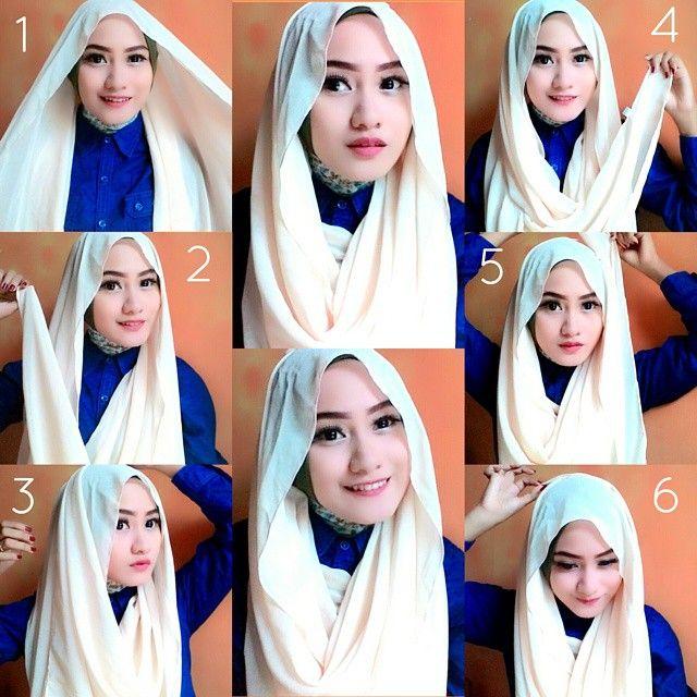Loose Hijab Styles Step By Step