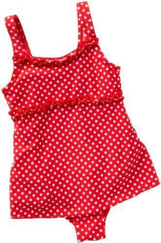 wholesale dealer 6a2ea 1d7dc Playshoes Mädchen Badeanzug, gepunktet UV-Schutz nach ...