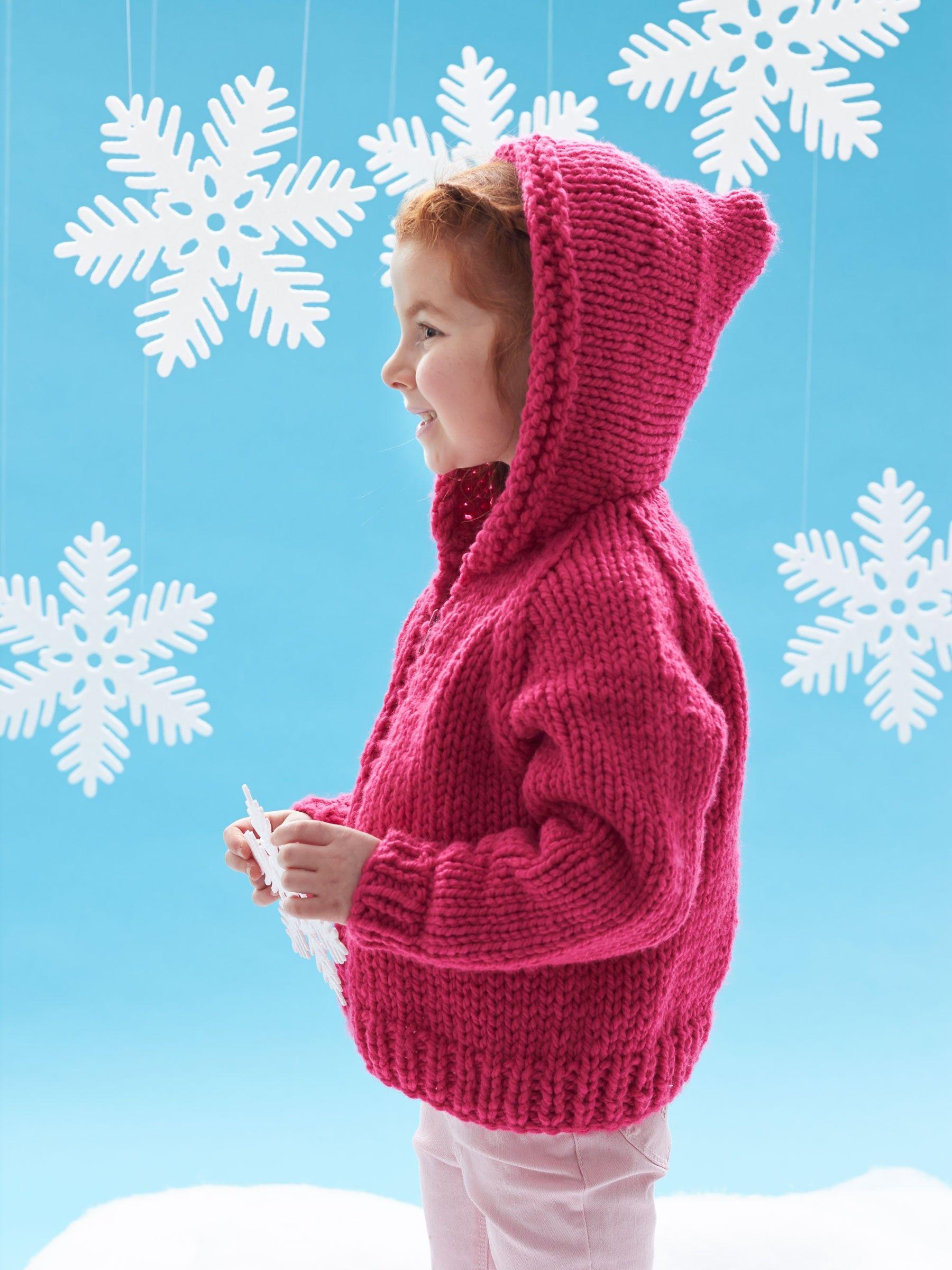Kid's Jacket | Kids jackets pattern, Chunky knit sweater ...