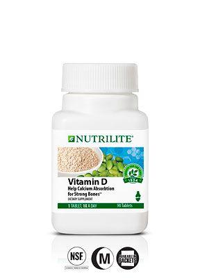 109760 Nutrilite Vitamin D Nutrilite Nutrilite Vitamins