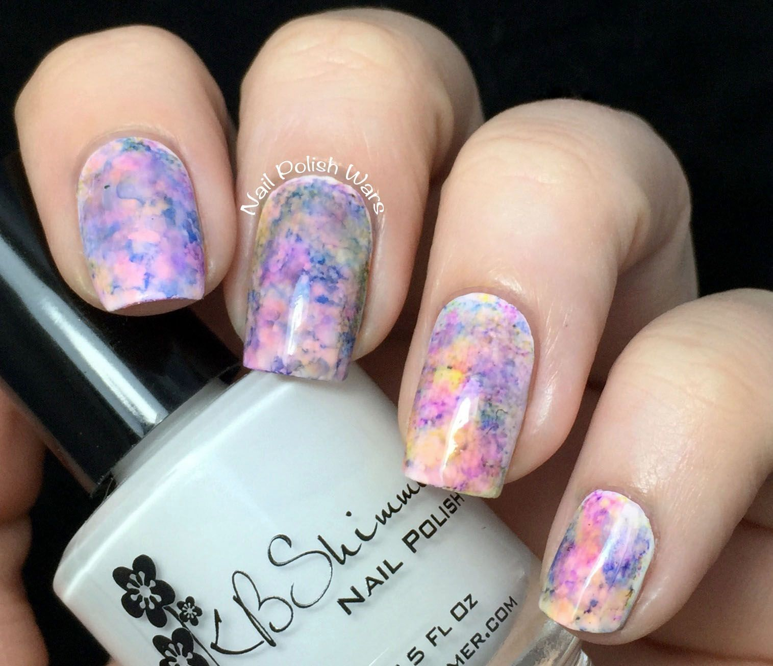 Alcohol Ink Marble Nails Nailart