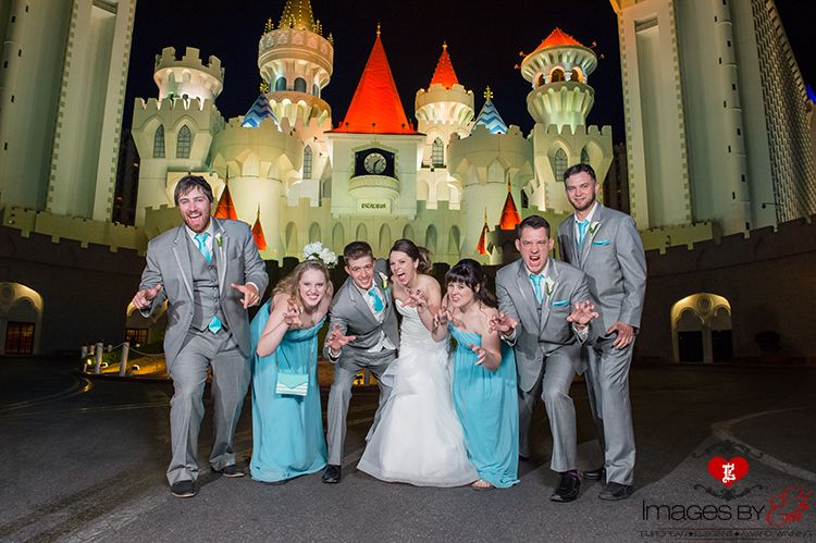 Bali Hai Golf Course Wedding In Las Vegas Party By The Excalibur Hotel