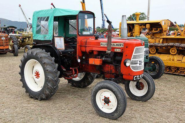 allis chalmers tractors   1963 Allis chalmers ED40 tractor
