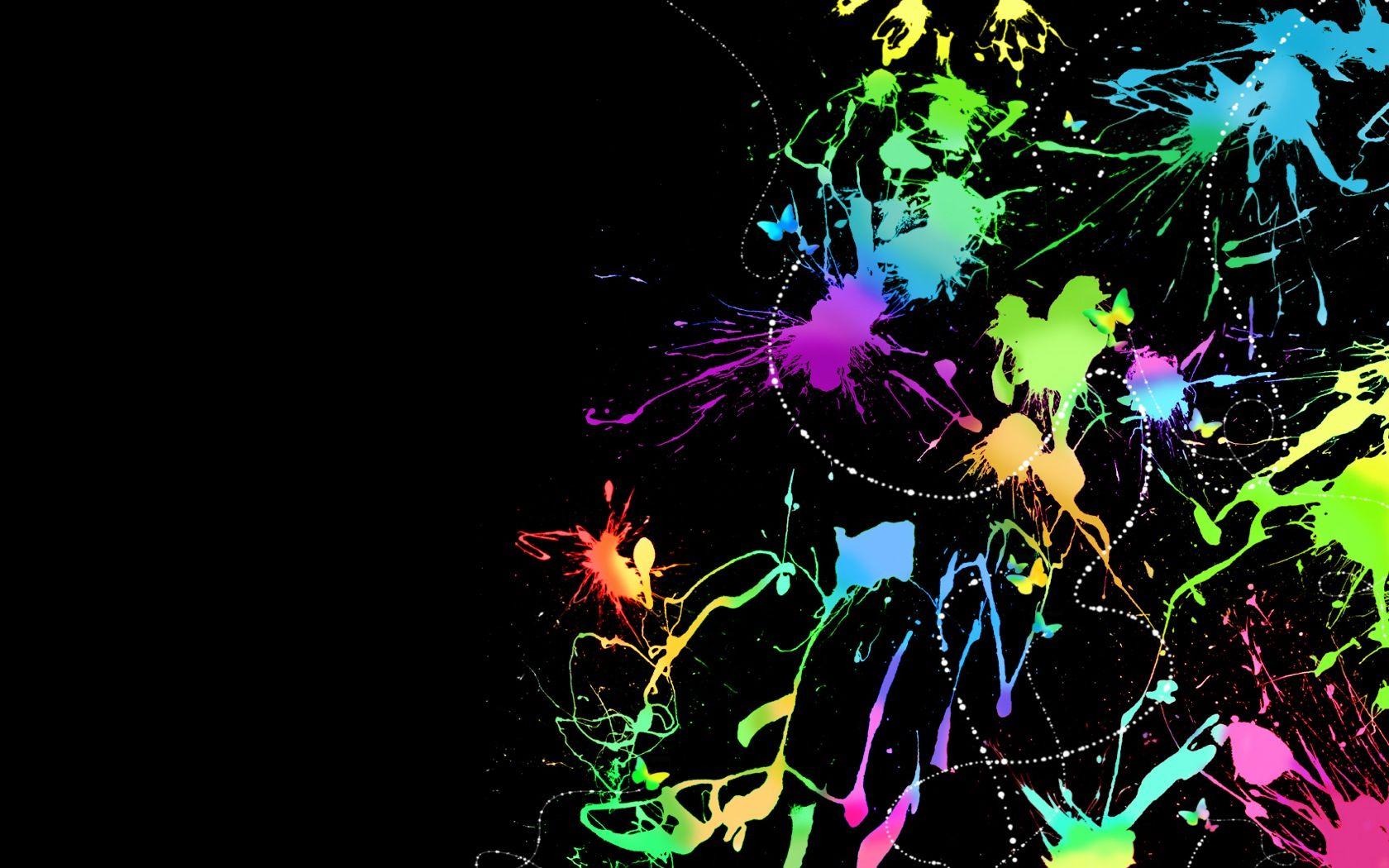 Abstract Digital Paint Art Abstract Art Wallpaper Colorful Wallpaper Abstract