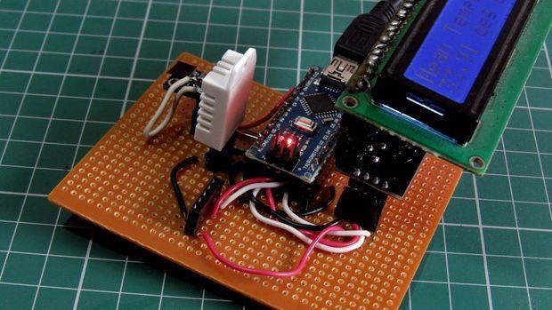 10 $ Portable Arduino Weather Station (AWS) | Arduino
