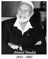 SYAIKH AHMAD DEEDAT: CERAMAH YANG MENGUSUNG PERSATUAN SUNNI SYIAH, (saat berkunjung ke Republik Islam Iran pada tanggal 3 Maret 1982) | Mendukung Kominfo dan BNPT Memblokir Situs Radikal Anti Syi'ah