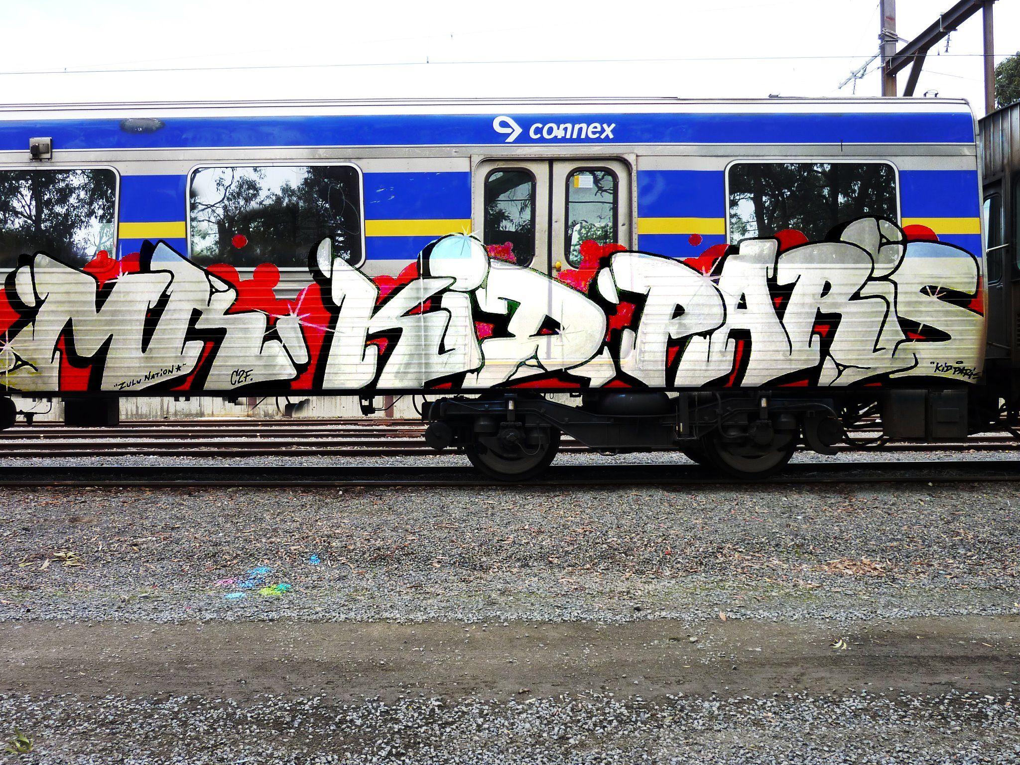 Melbourne graffiti writer, PARIS.
