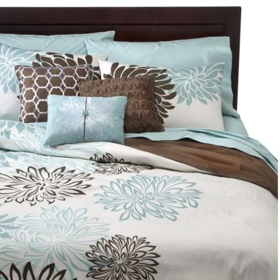 This Will Work Now If Somebody Would It For Me Lol Anya 6 Piece Fl Print Duvet Cover Set Bluebrown