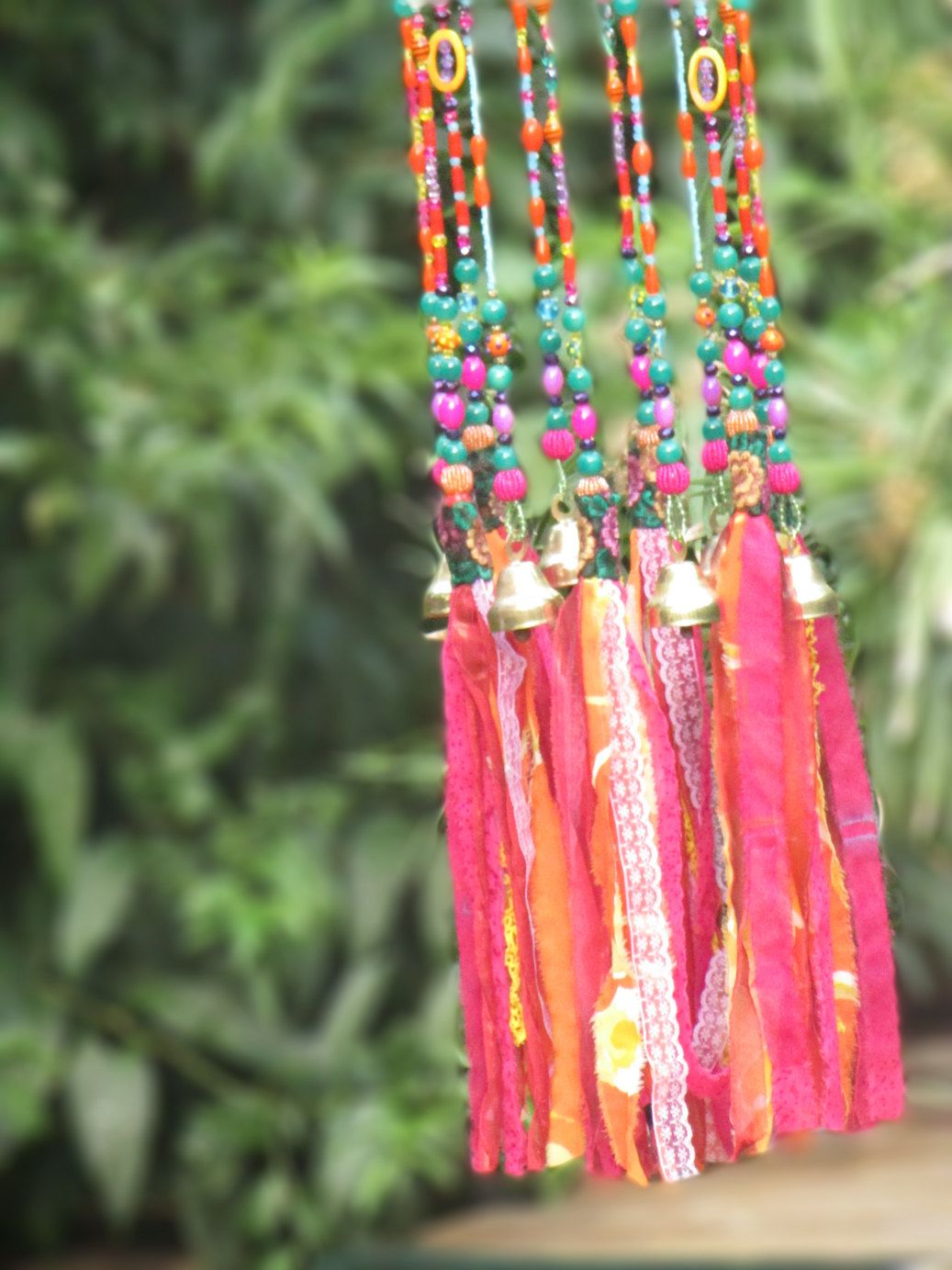 unique wind chimes-pink windchime-house warming gift ...