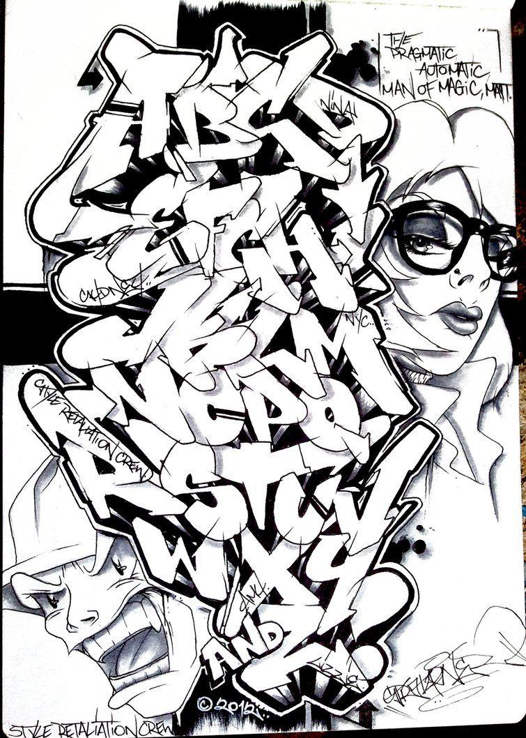 Stratafarian alphabet street art pinterest graffiti street stratafarian graffiti alphabet by thecheapjerseys Image collections
