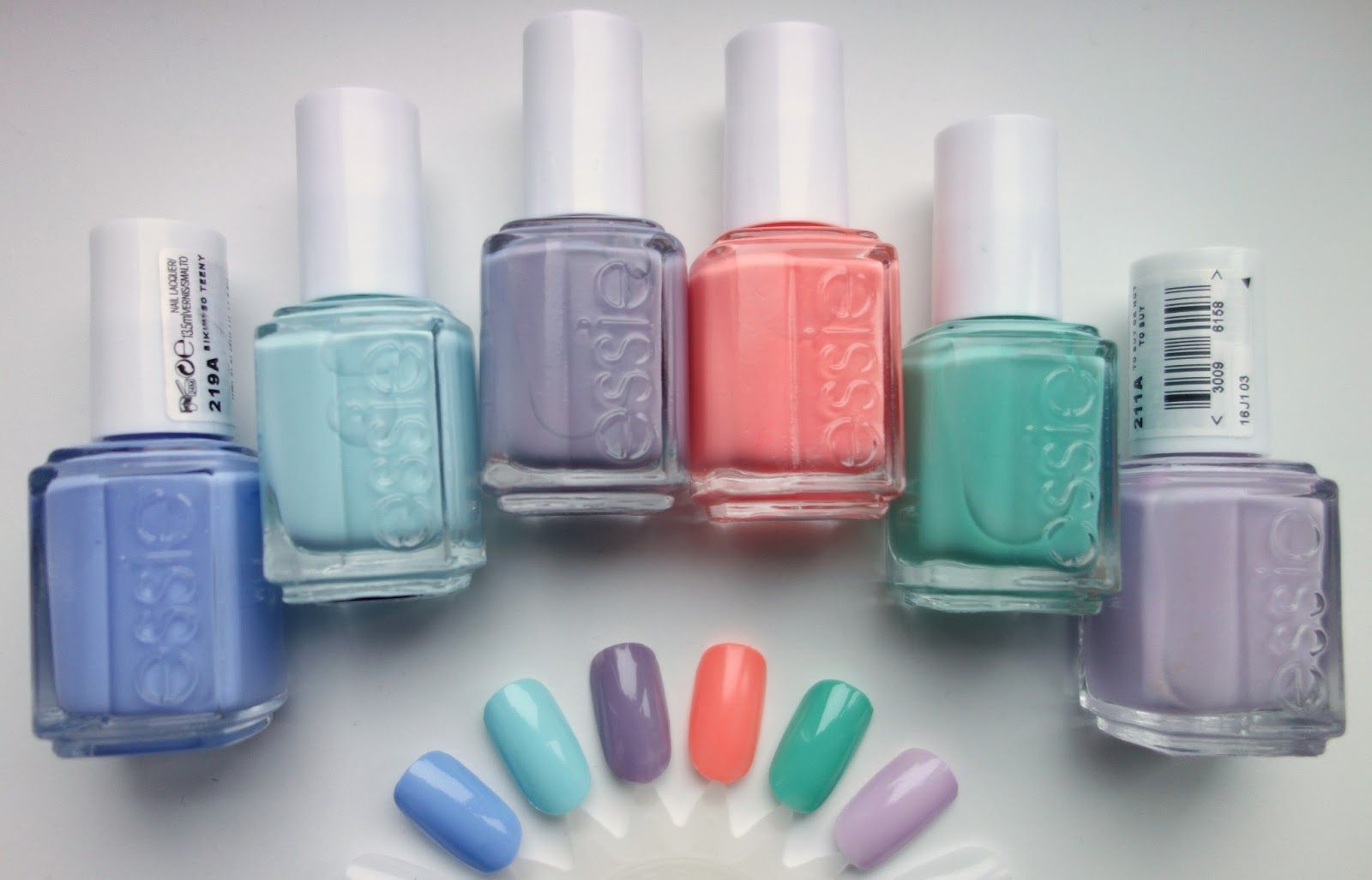 collection: my essie nail polishes | Essie mint candy apple, Mint ...