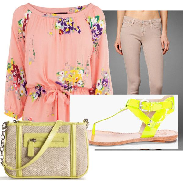 A great tutorial on how to incorporate neon into your wardrobe!