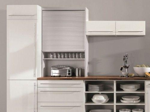 Rollladen Hängeschrank für Küchen [3/16] | TopKüchenIdeen | Kitchen ...