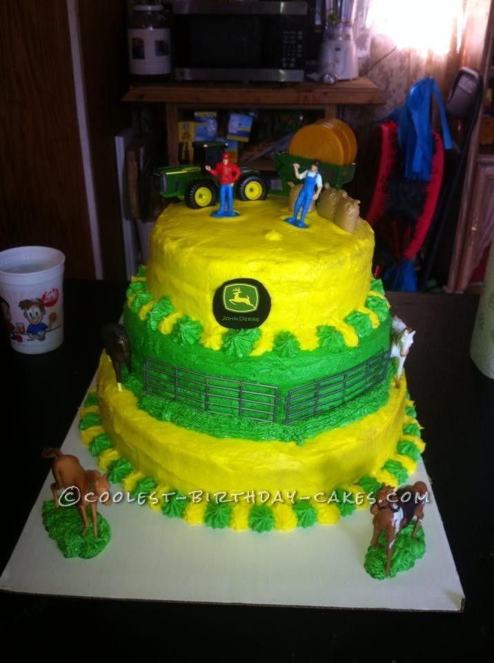 Coolest John Deere Birthday Cake Birthday cakes Birthdays and Cake