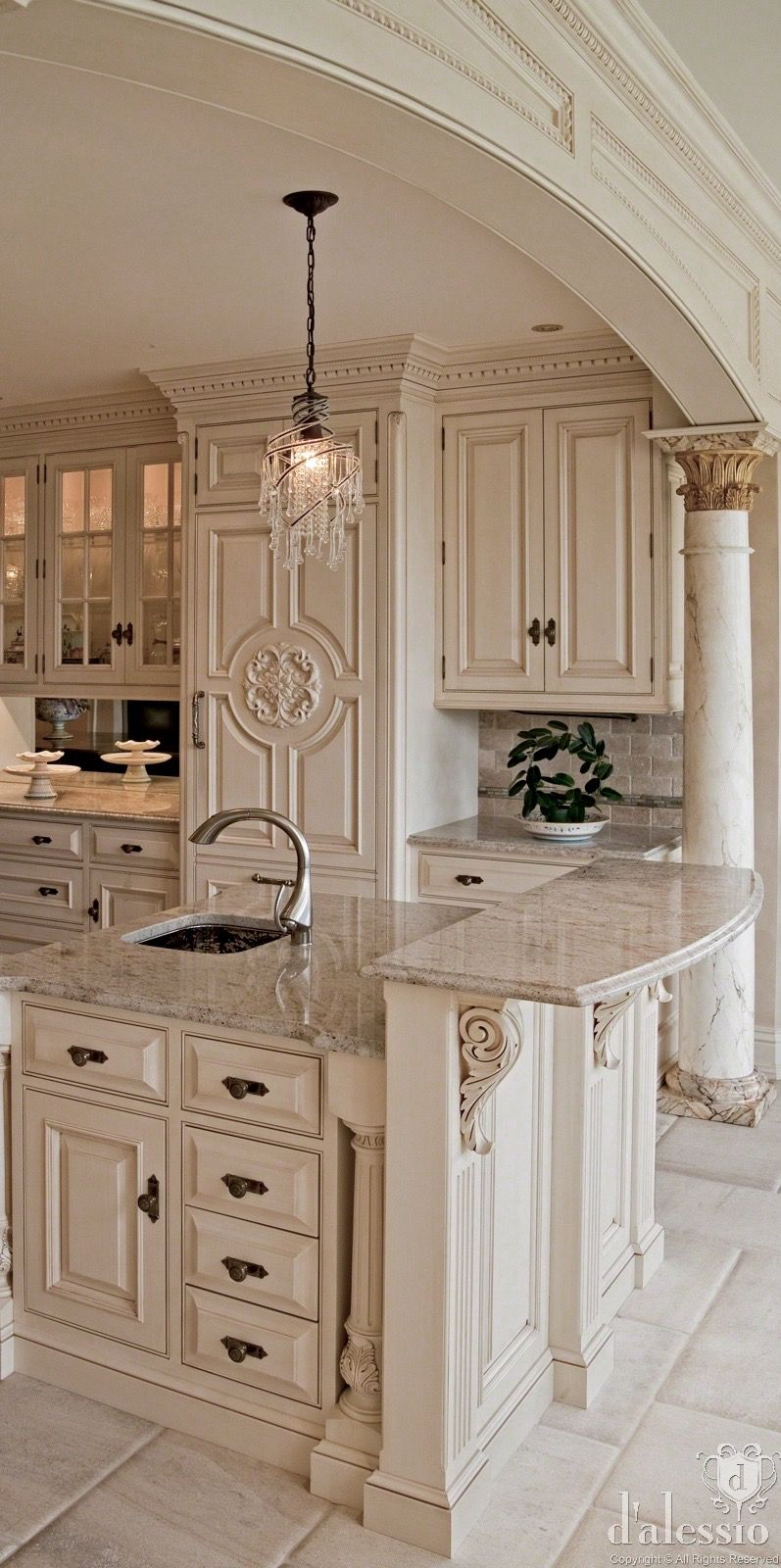 Lovely Tuscan Style Cabinet Hardware
